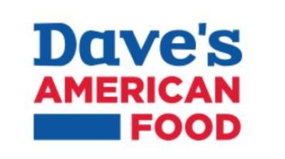 Promozione Free shipping Dave's American Foodper spedizione gratis