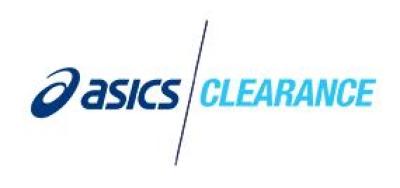 Codice Coupon ASICS Clearance per sconto extra del 5% su tutto
